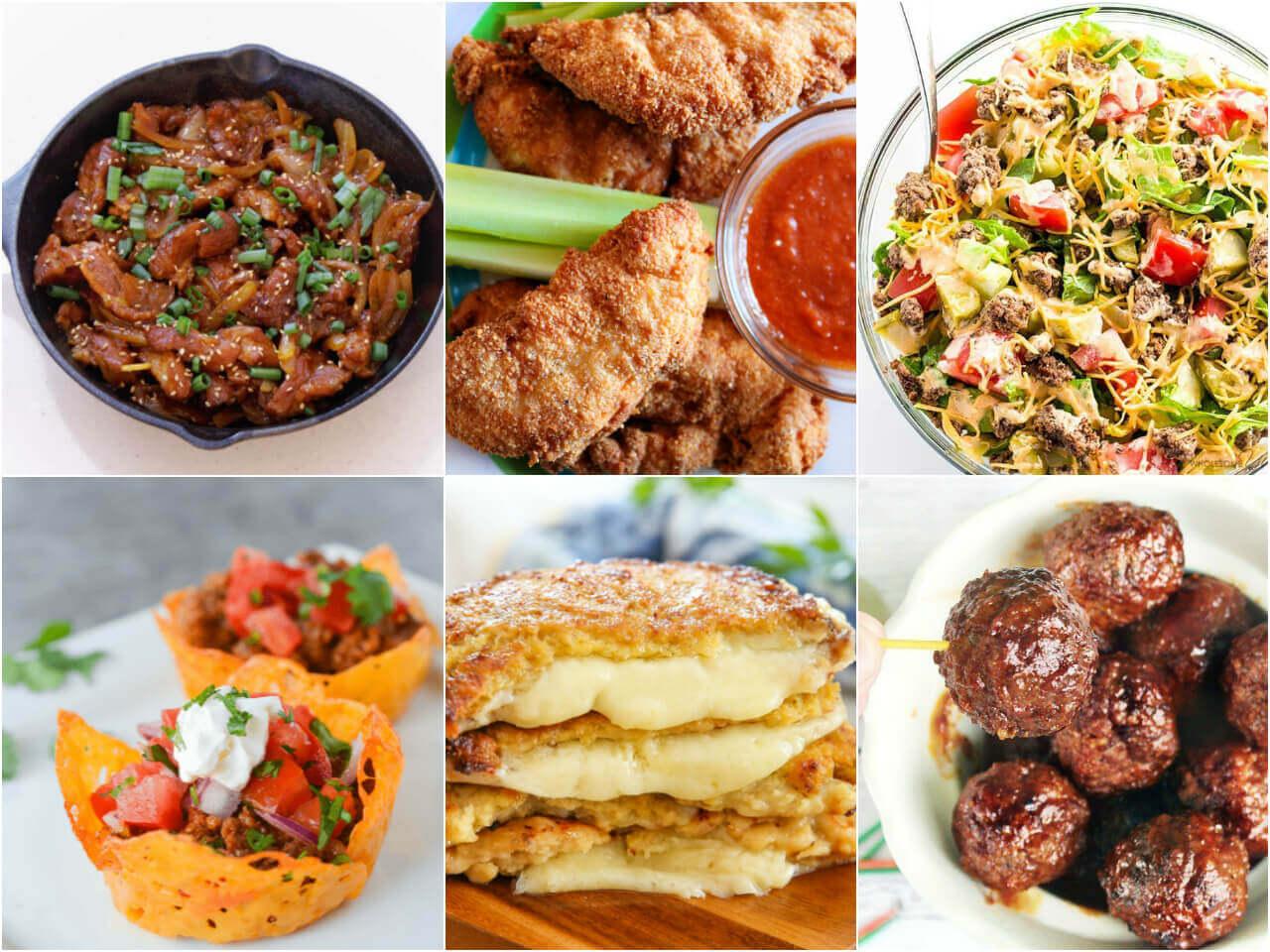 Ketogenic dinner recipes
