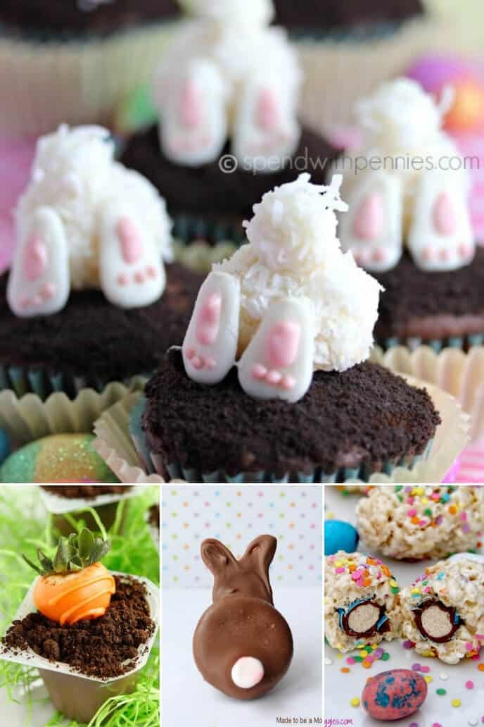 A collection of chocolate easter recipes