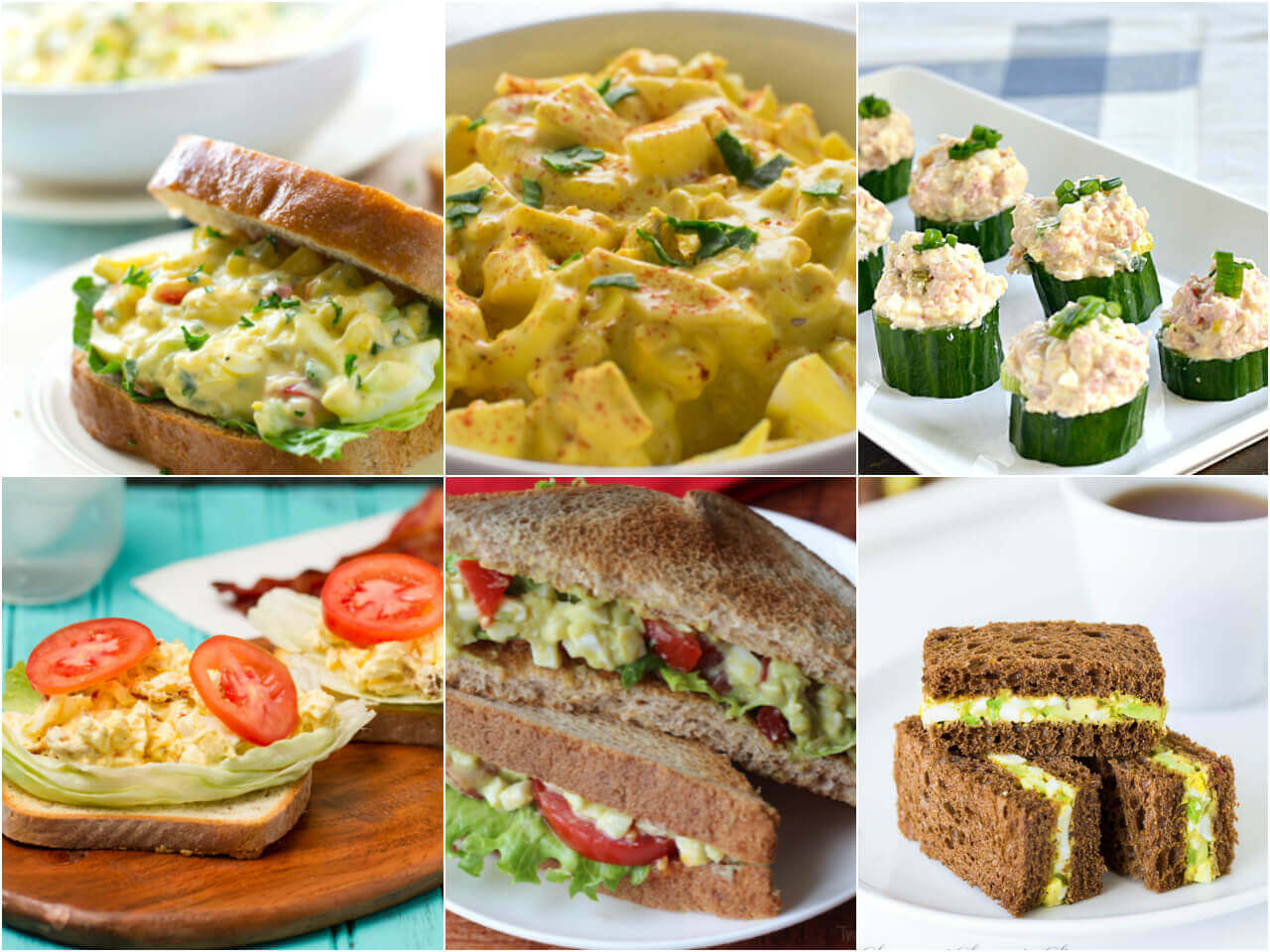 egg salad recipes easy