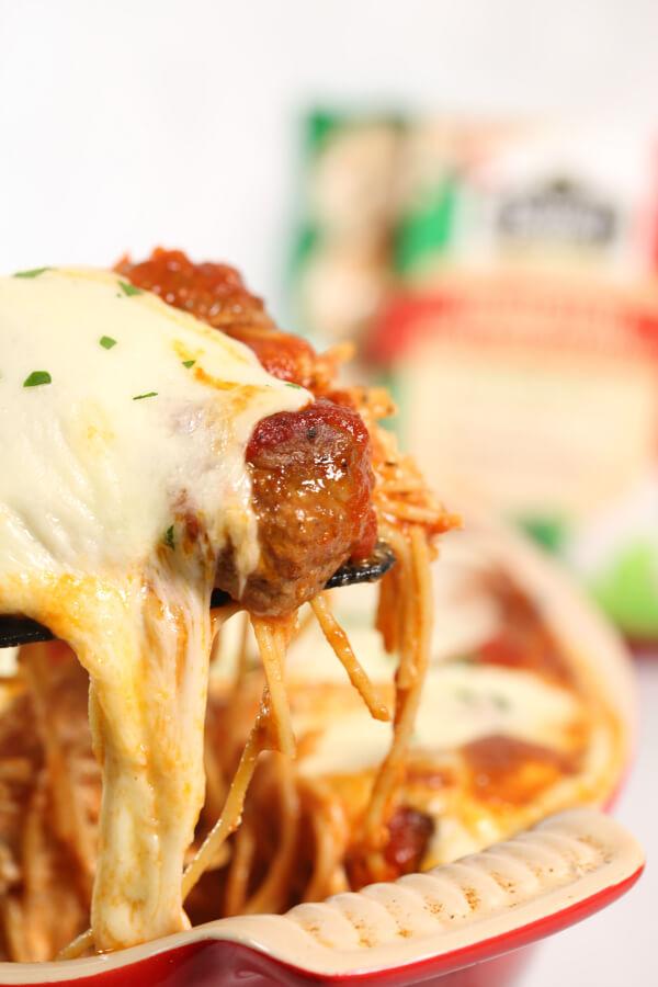 spaghetti casserole bake