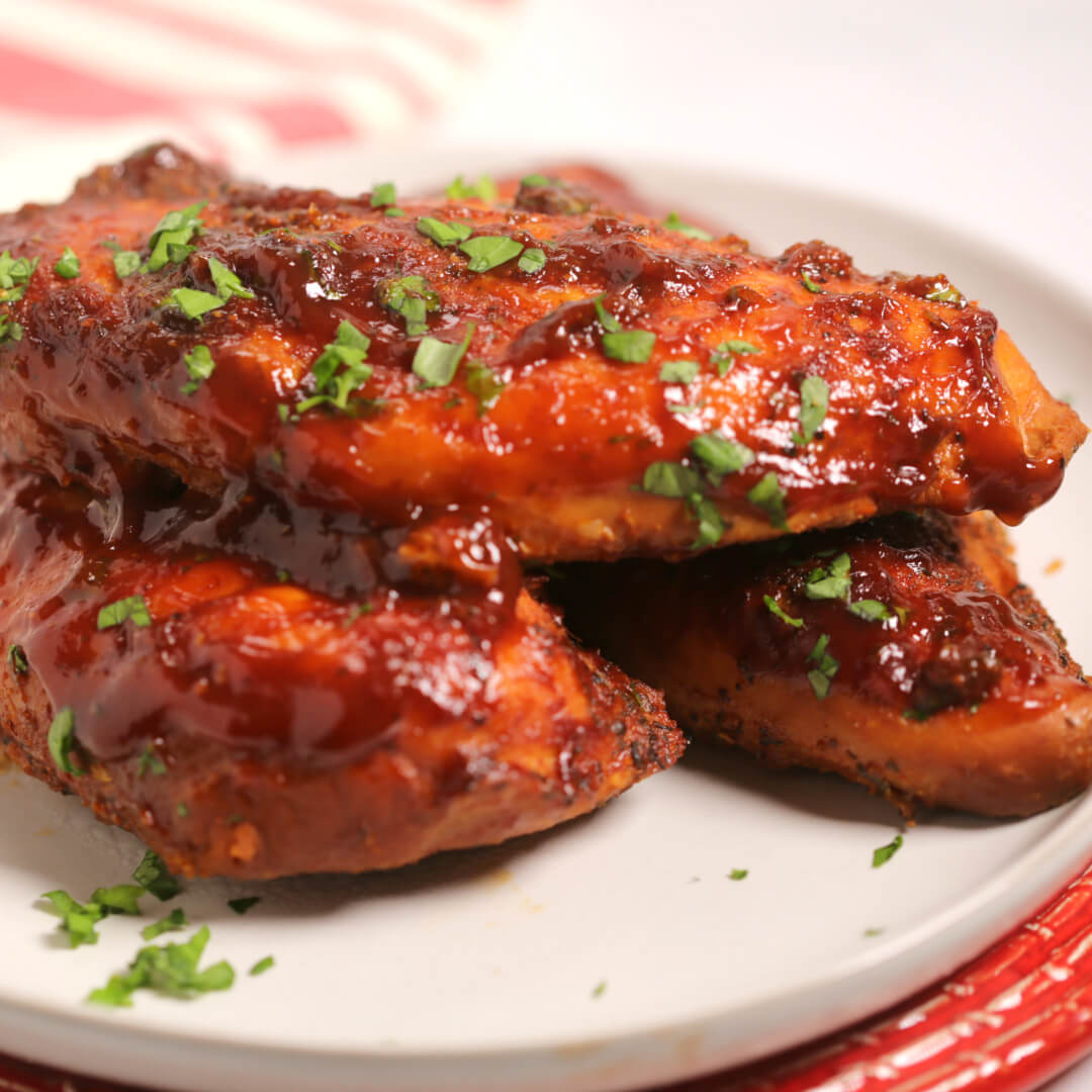 Easy Chicken Breast Recipes For A Crowd: Instant Pot Barbecue Chicken
