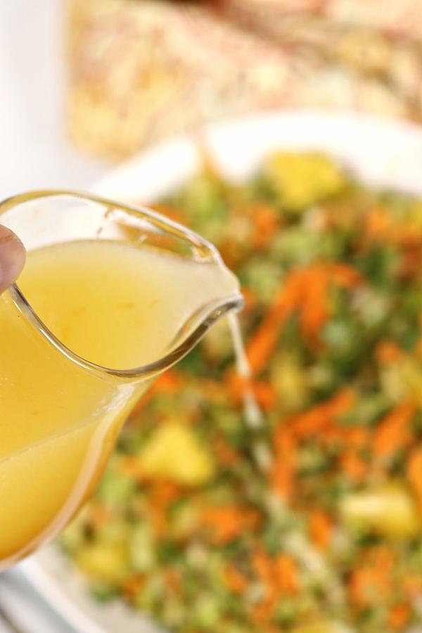 Citrus Broccoli Salad