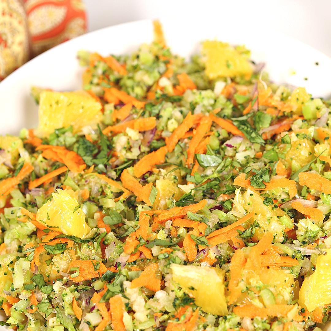 Citrus Broccoli Salad Recipes