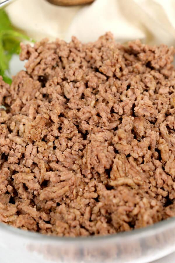 Pressure Cooker Ground Beef