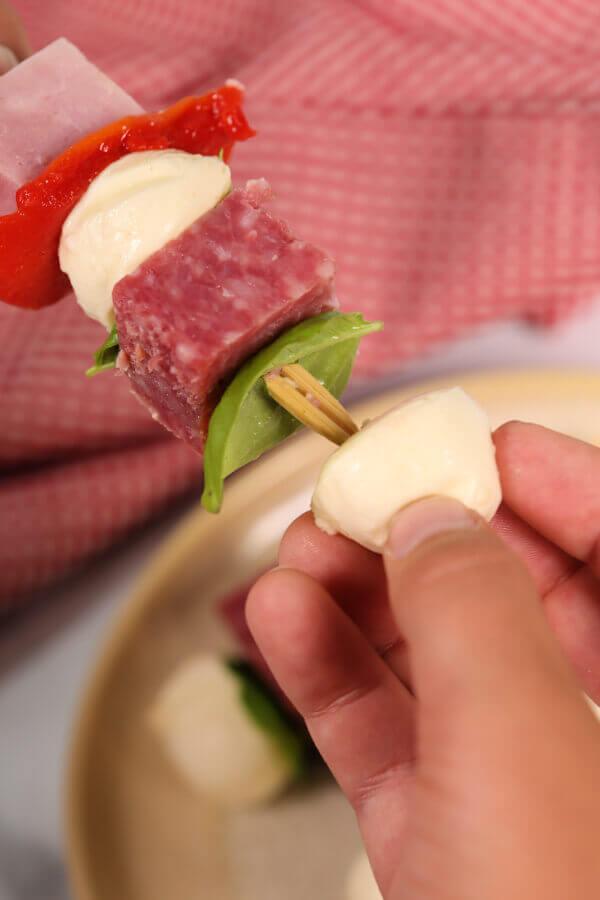Italian Lunchbox Kabobs Recipes
