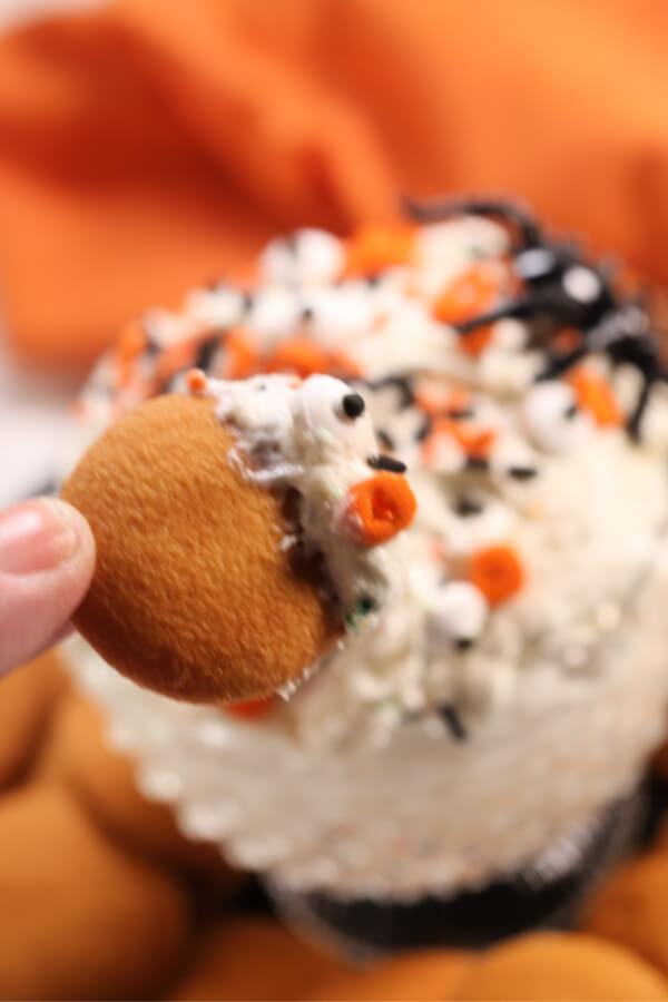 Halloween Cake Batter Dip