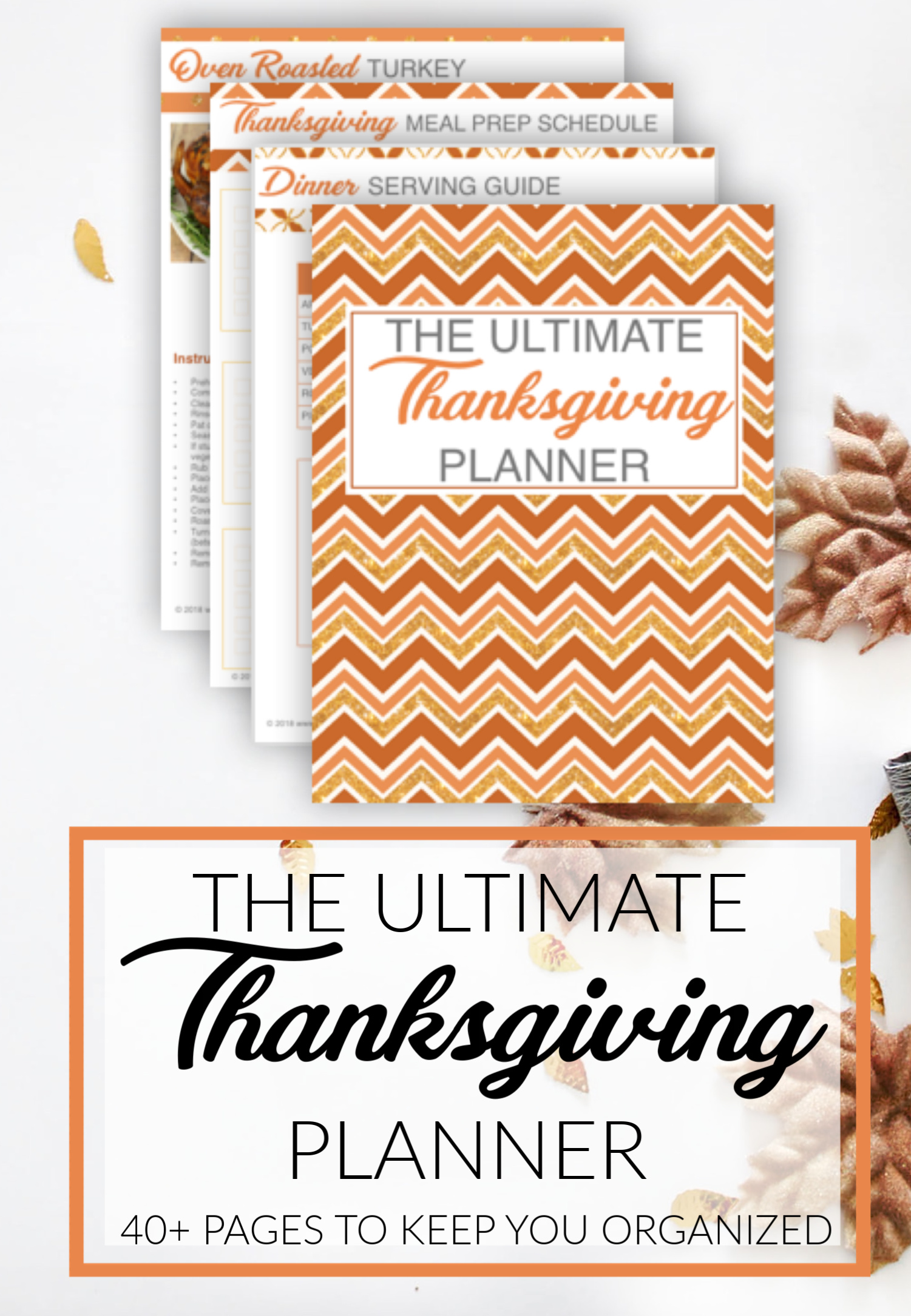 ULTIMATE THANKSGIVING DAY PLANNER BUNDLE
