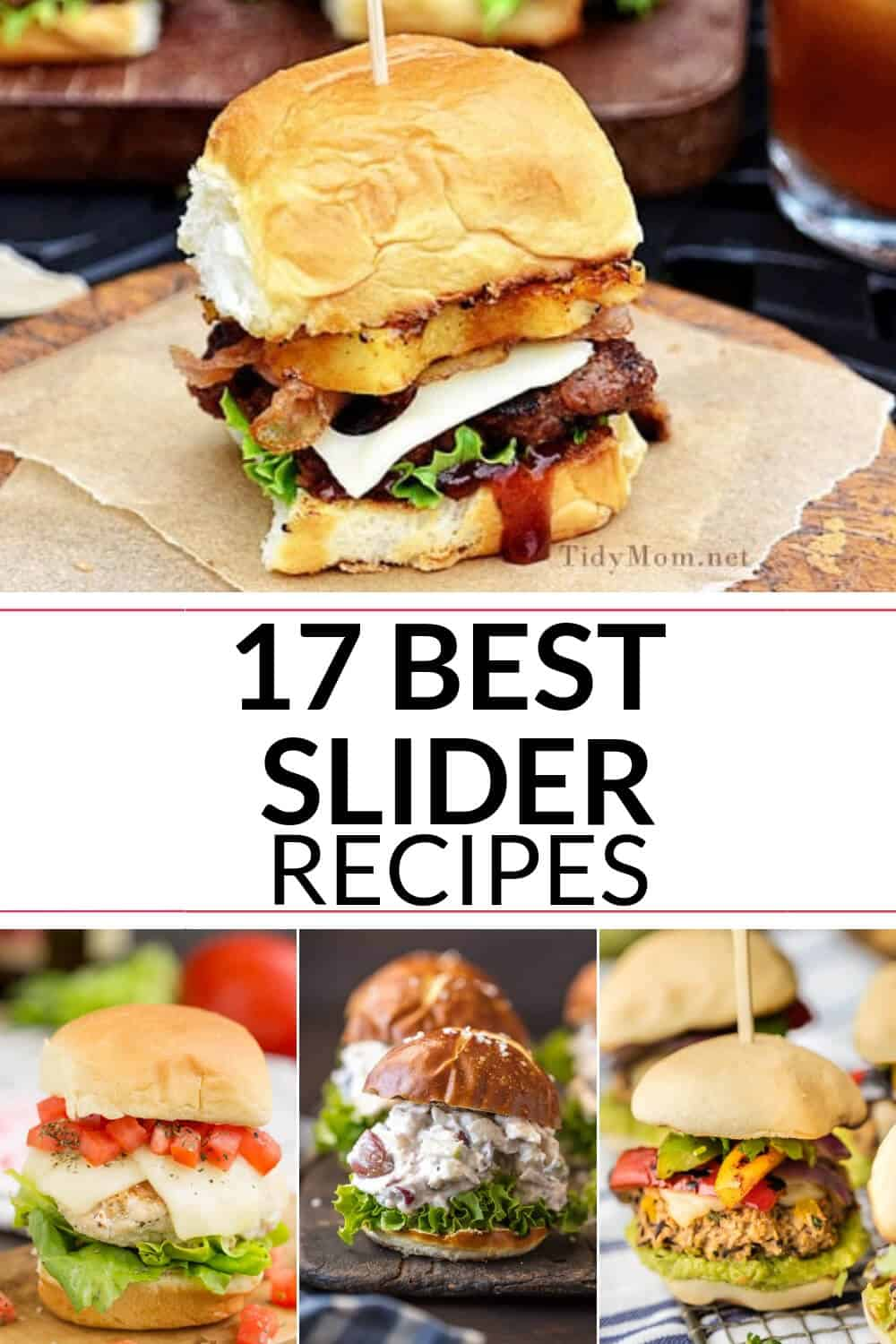 A collection of the best slider recipes