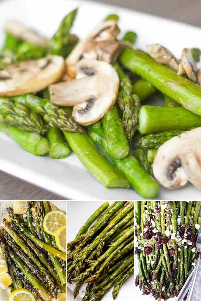 A collection of easy asparagus recipes