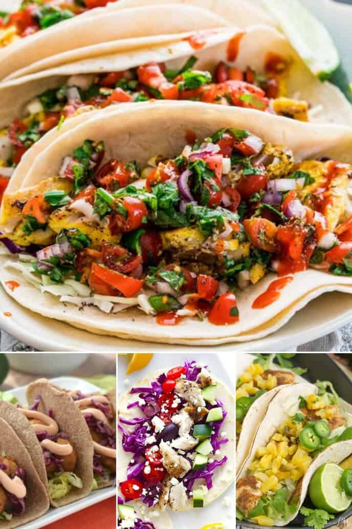 A collection of easy fish taco recipes
