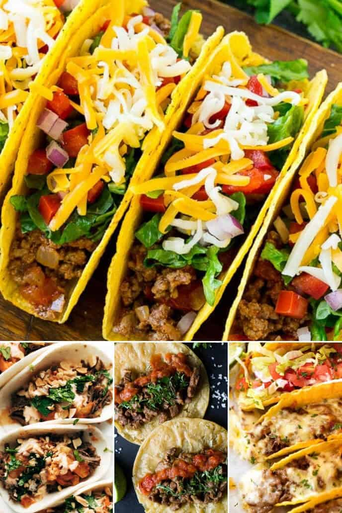 Collection of the best steak taco recipe