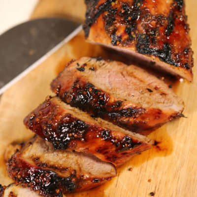 BEST Grilled Pork Tenderloin