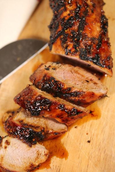 BEST Grilled Pork Tenderloin