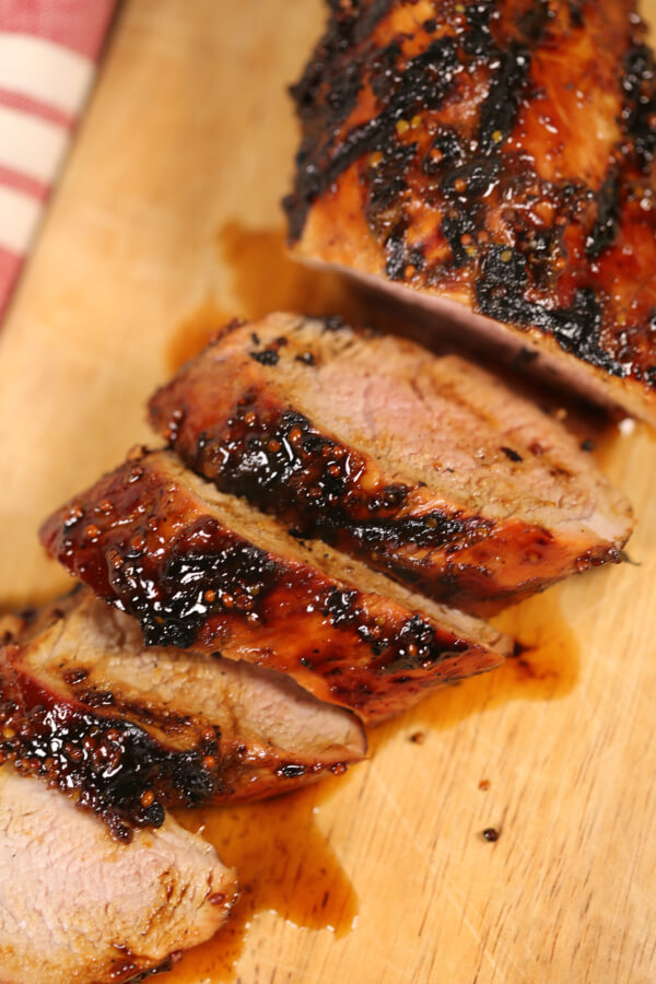 the best grilled pork tenderloin