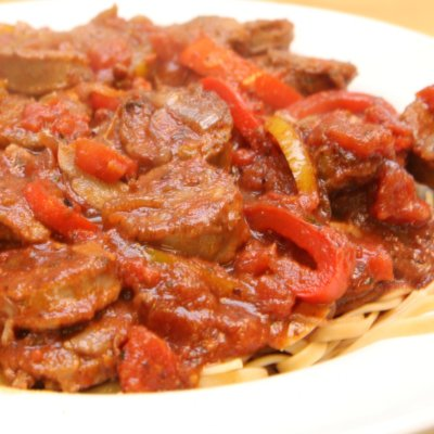 Linguine with Sausage and Peppers