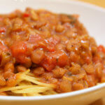 Spaghetti with Lentils