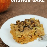 This Pumpkin Crunch Cake is a super easy dessert recipe that is perfect for fall.
