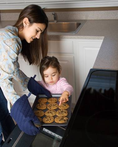 Getting Kids COoking in the Kitchen