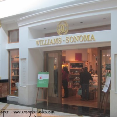 Thank You, Williams-Sonoma!