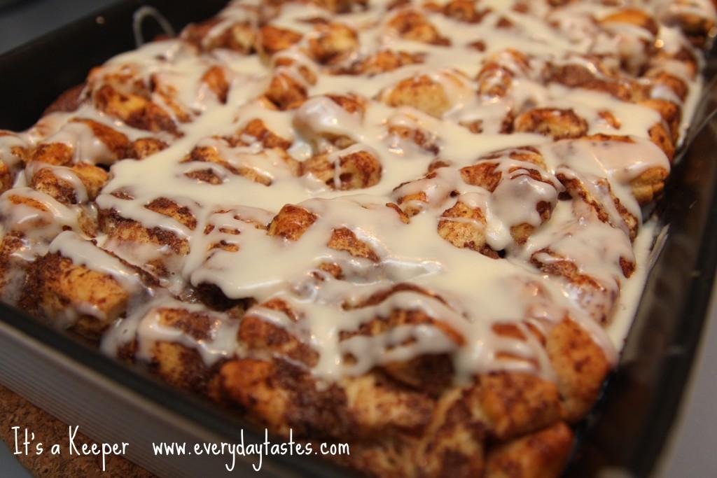 Cinnamon Roll French Toast Bake