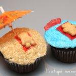 Beach Inspired Cupcakes