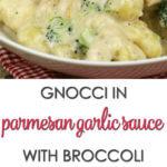 Gnocchi Parmesan Garlic Sauce