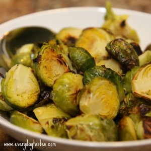 Garlic Roasted Brussels Sprouts It's a Keeper