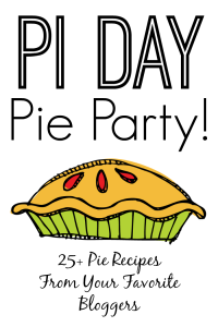 Pi Day Pie Party Graphic