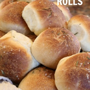 Rosemary Dinner Rolls - It is a Keeper