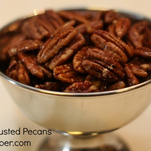 Cinnamon Crusted Pecans It's a Keeper