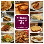 My Favorite Recipes from 2012