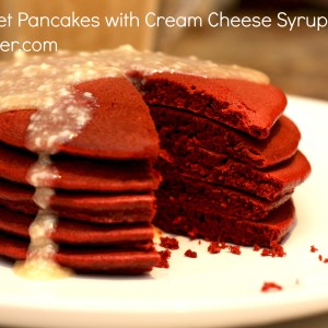 Red Velvet Pancakes It's a Keeper