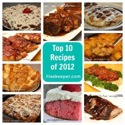 Top 10 Recipes of 2012