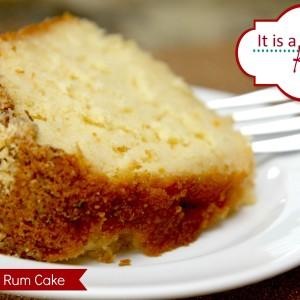 Rum Cake It's a Keeper