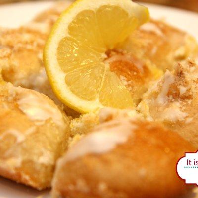 Lemon Pull Apart Bread