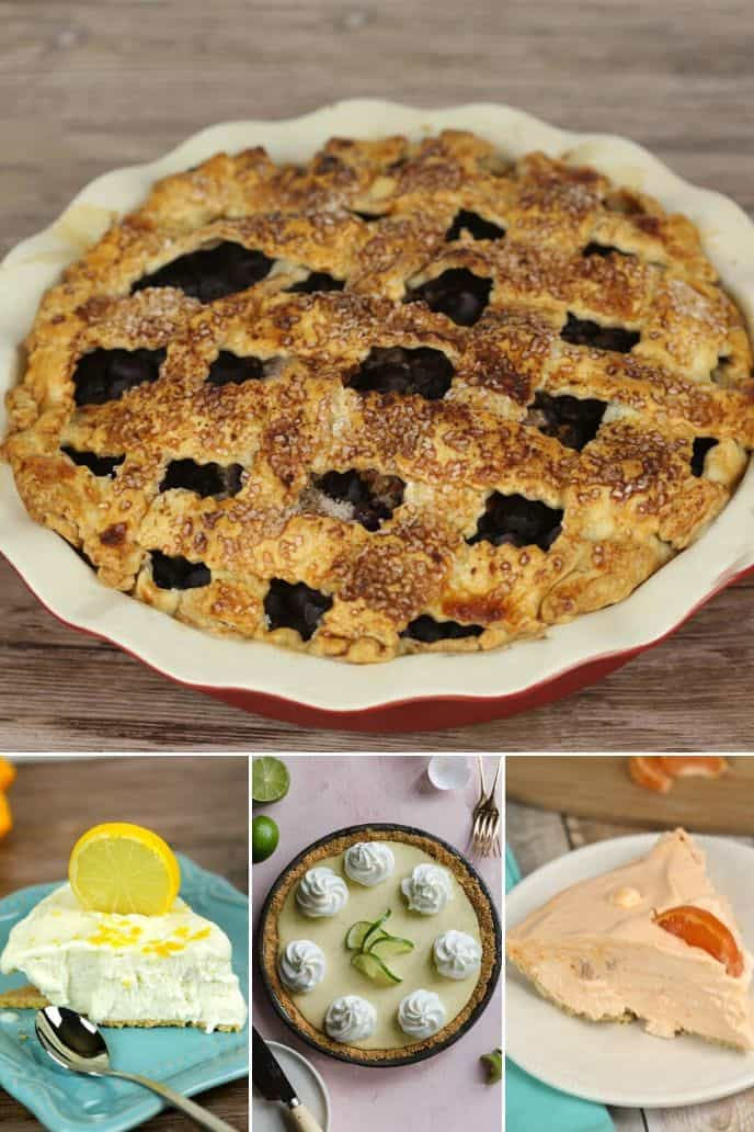 collection of fruit pie recipes