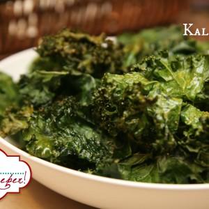 Crispy Kale Chips 2 It's a Keeper