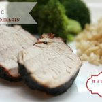 Balsamic Marinated Grilled Pork Tenderloin