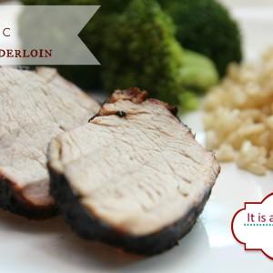 Balsamic marinated grilled Pork Tenderloin It's a Keeper