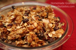 Homemade Granola It's a Keeper