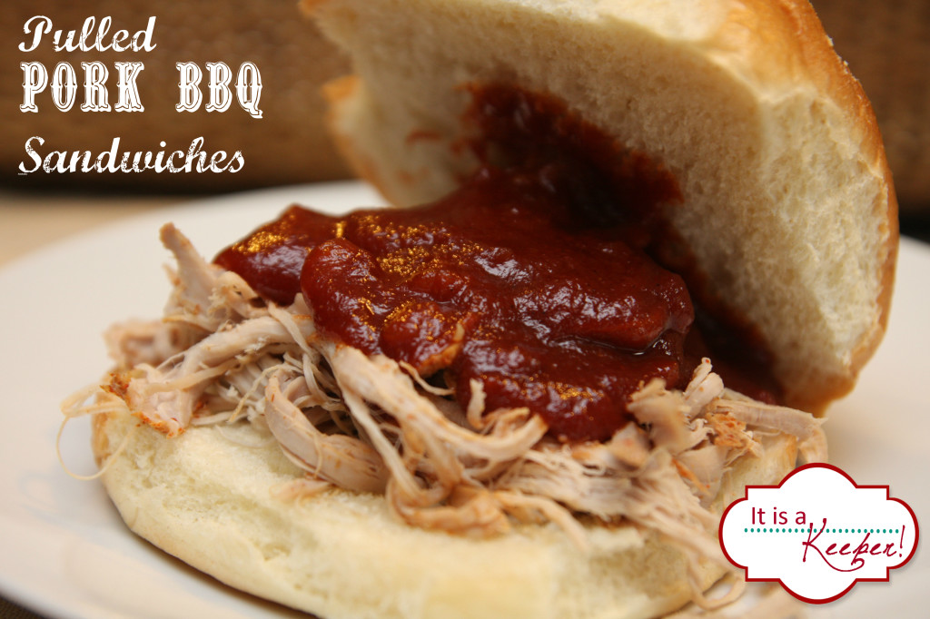 Slow Cooker Pulled Pork BBQ it's a keeper