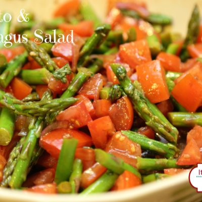 Fresh Tomato and Asparagus Salad