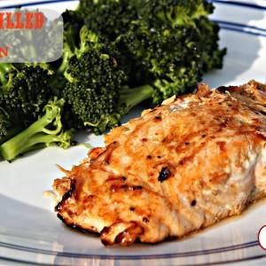 BBQ Grilled salmon it's a keeper