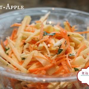 Carrot Apple Ginger Slaw It's a Keeper