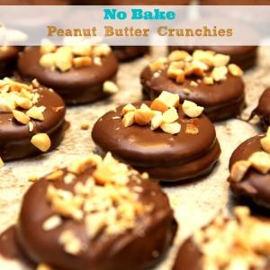 No Bake Peanut Butter Crunchies