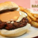 BBQ Bacon Burger It's a Keeper