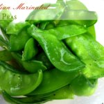 Italian Marinated Snap Peas