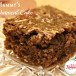 Mammy's Oatmeal Cake with Coconut Frosting Recipe