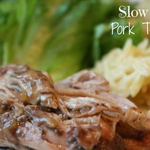 Slow Cooker Pork Tenderloin it's a keeper