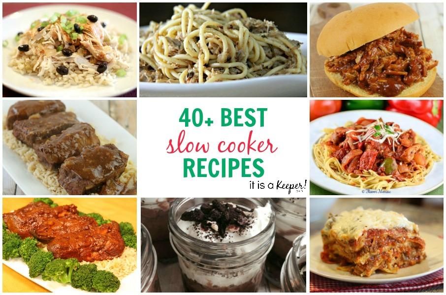 40+ Best Crock Pot Recipes - It Is a Keeper C2
